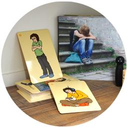 Emotionskarten zum Ausdrücken von Gefühlen für Jugendliche in der Praxis der Psychotherapie Susanne Kiessling - Ihre Psychotherapeutische Behandlung für Kinder und Jugendliche